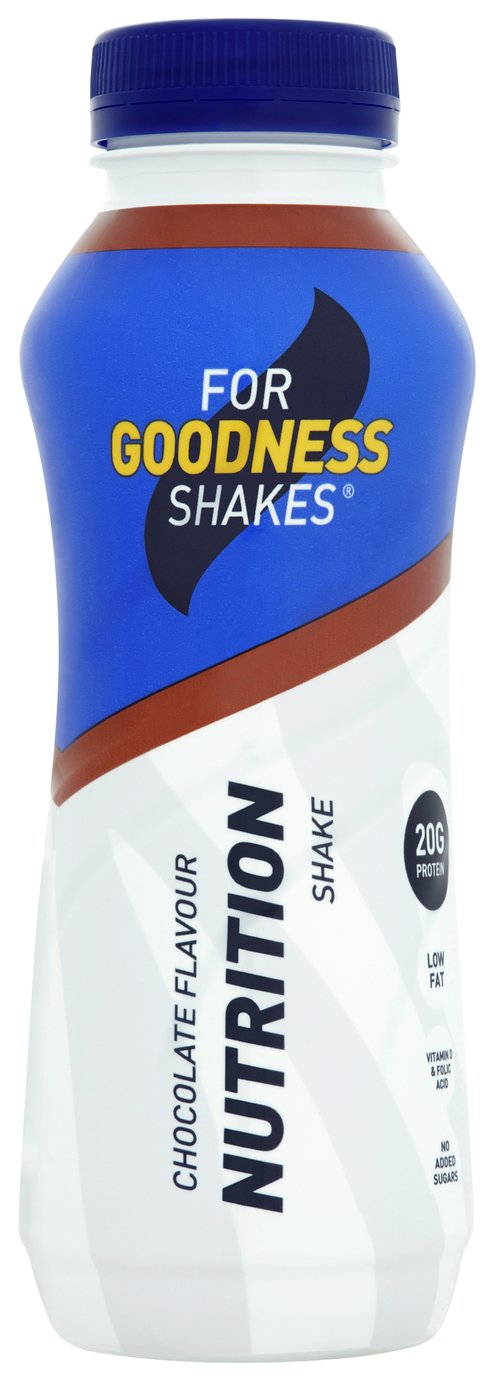 For Goodness Shakes Chocolate Nutrition Shake