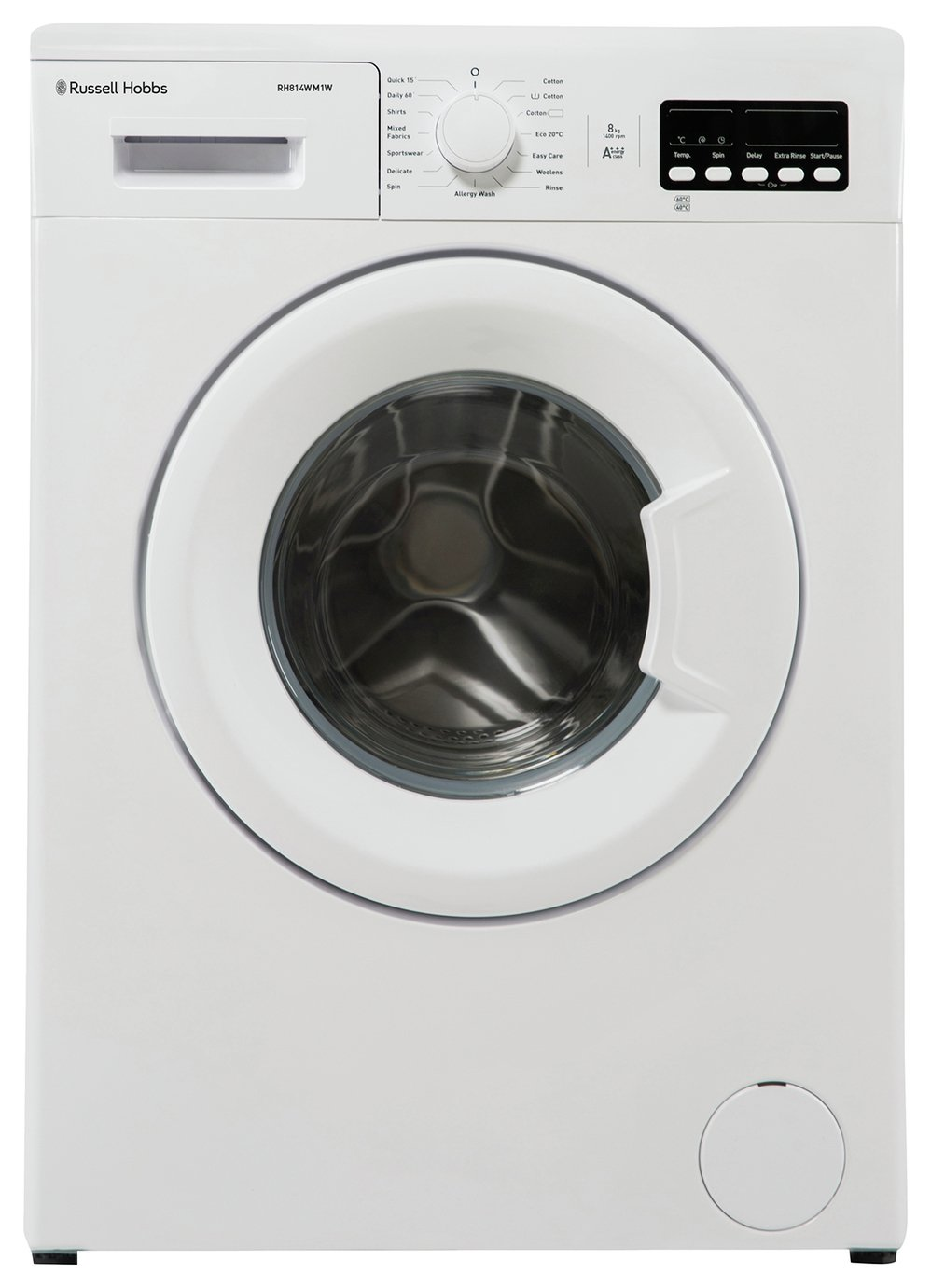 Russell Hobbs RH814WM1W 8KG 1400 Washing Machine - White