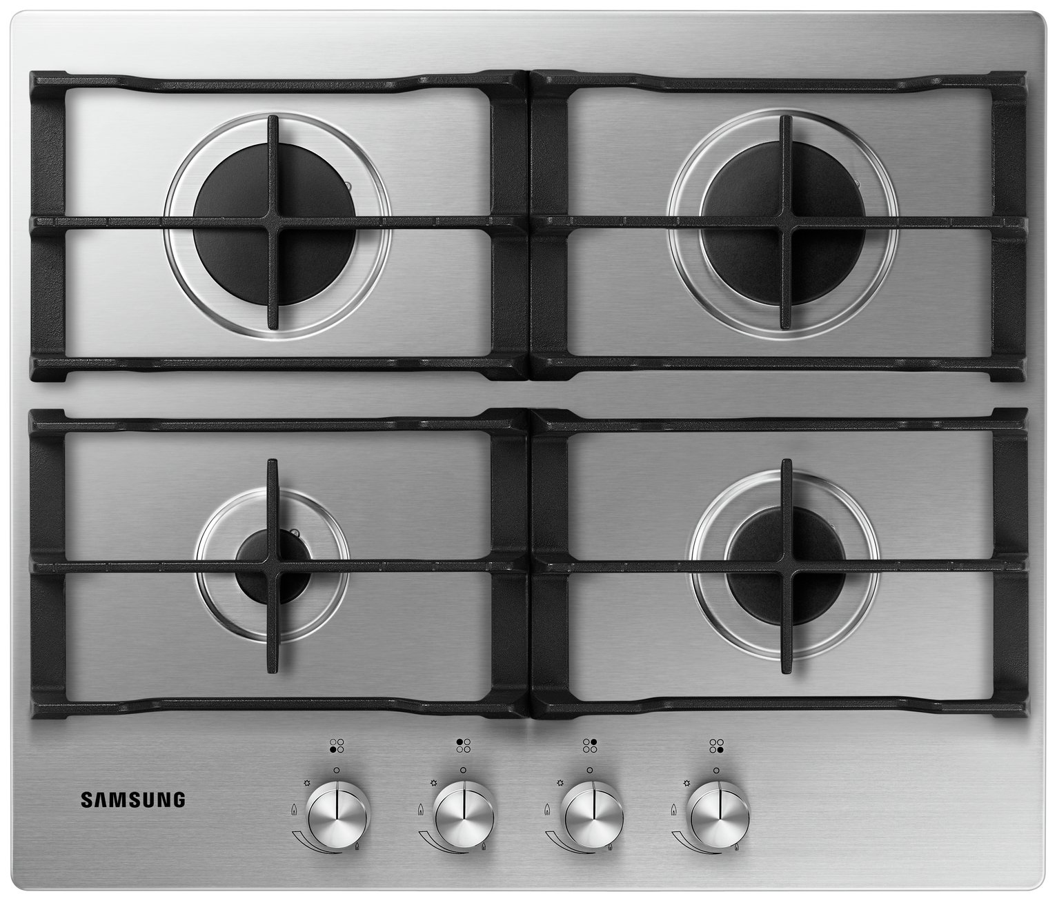 Samsung NA64H3010AS Gas Hob - Stainless Steel