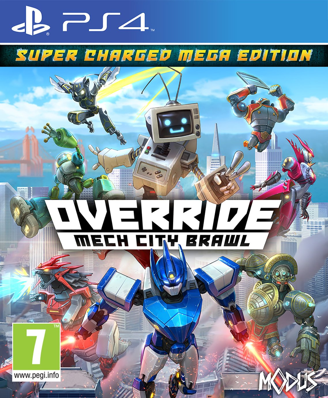 Override Mech City Brawl Super-Charged Mega Edition PS4 Game