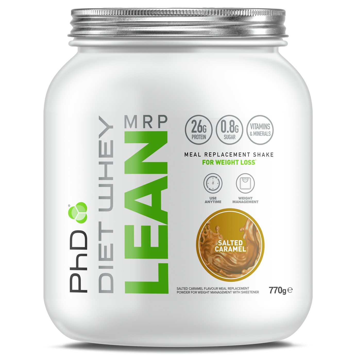 PHD Salted Caramel Diet Whey