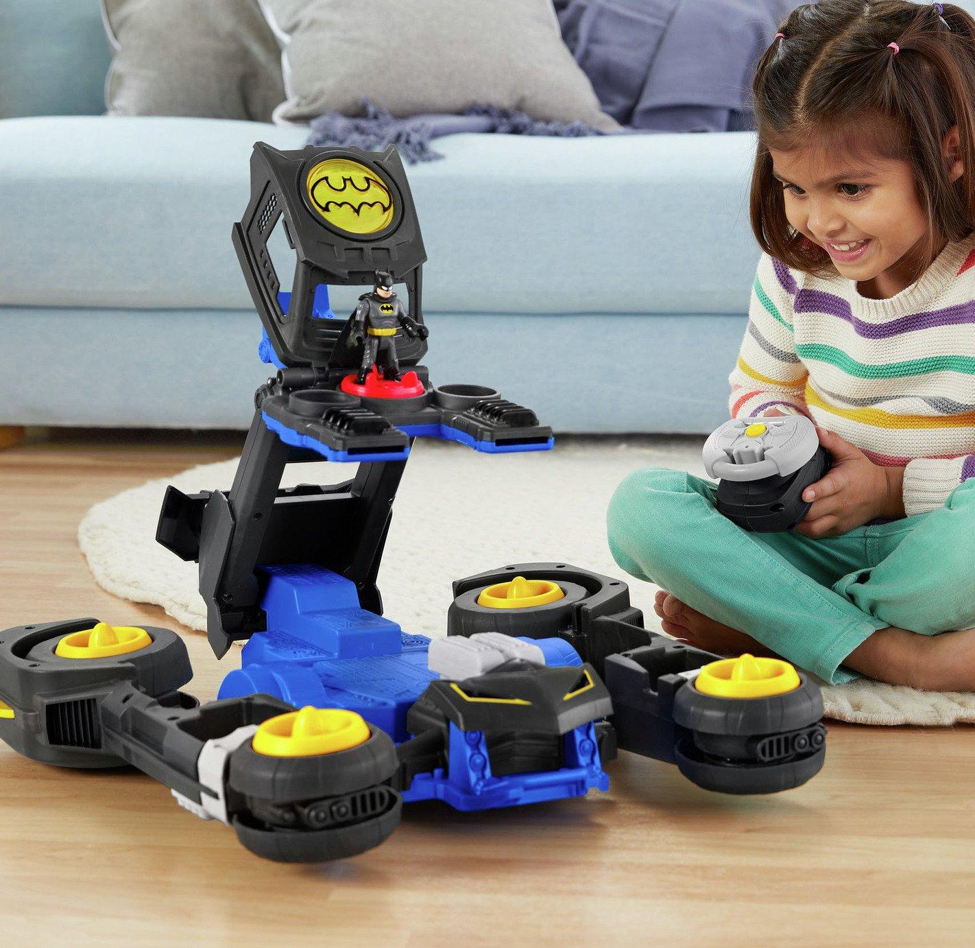 Imaginext DC Transforming Remote Control Batmobile
