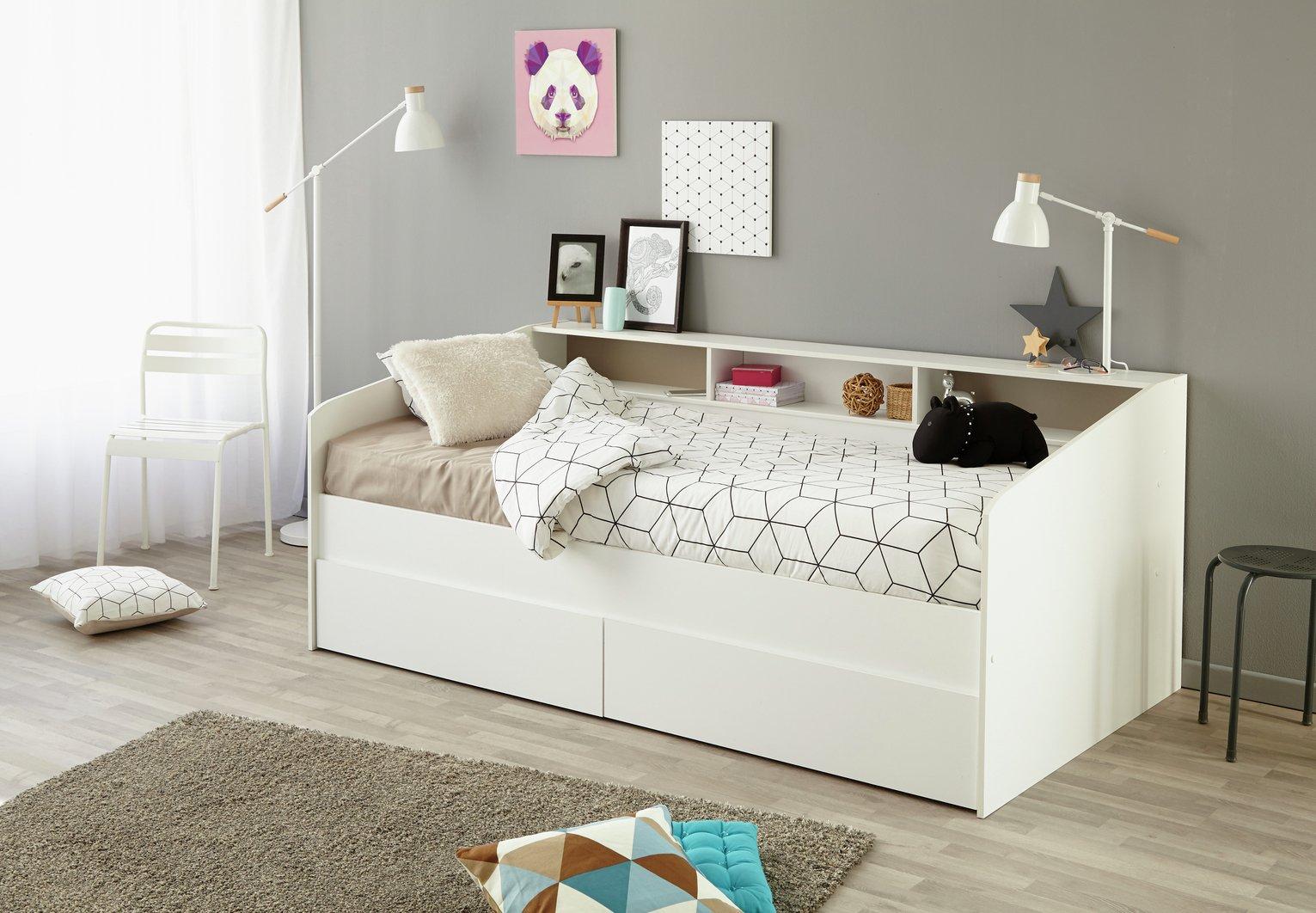 Parisot Sleep White Day Bed Frame