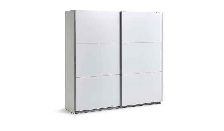 Habitat Holsted White Extra Large Wardrobe