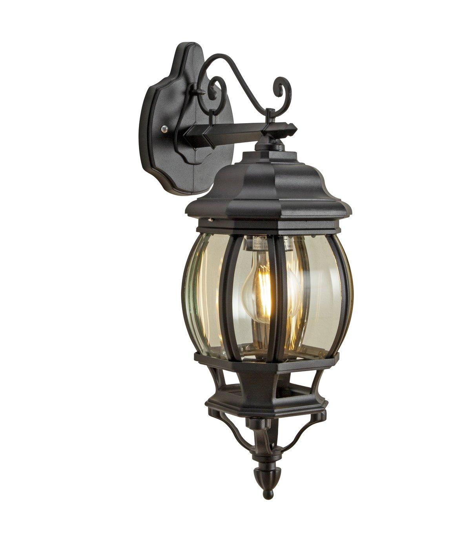 Argos Home Pumpkin 8 Sided Black Outdoor Lantern