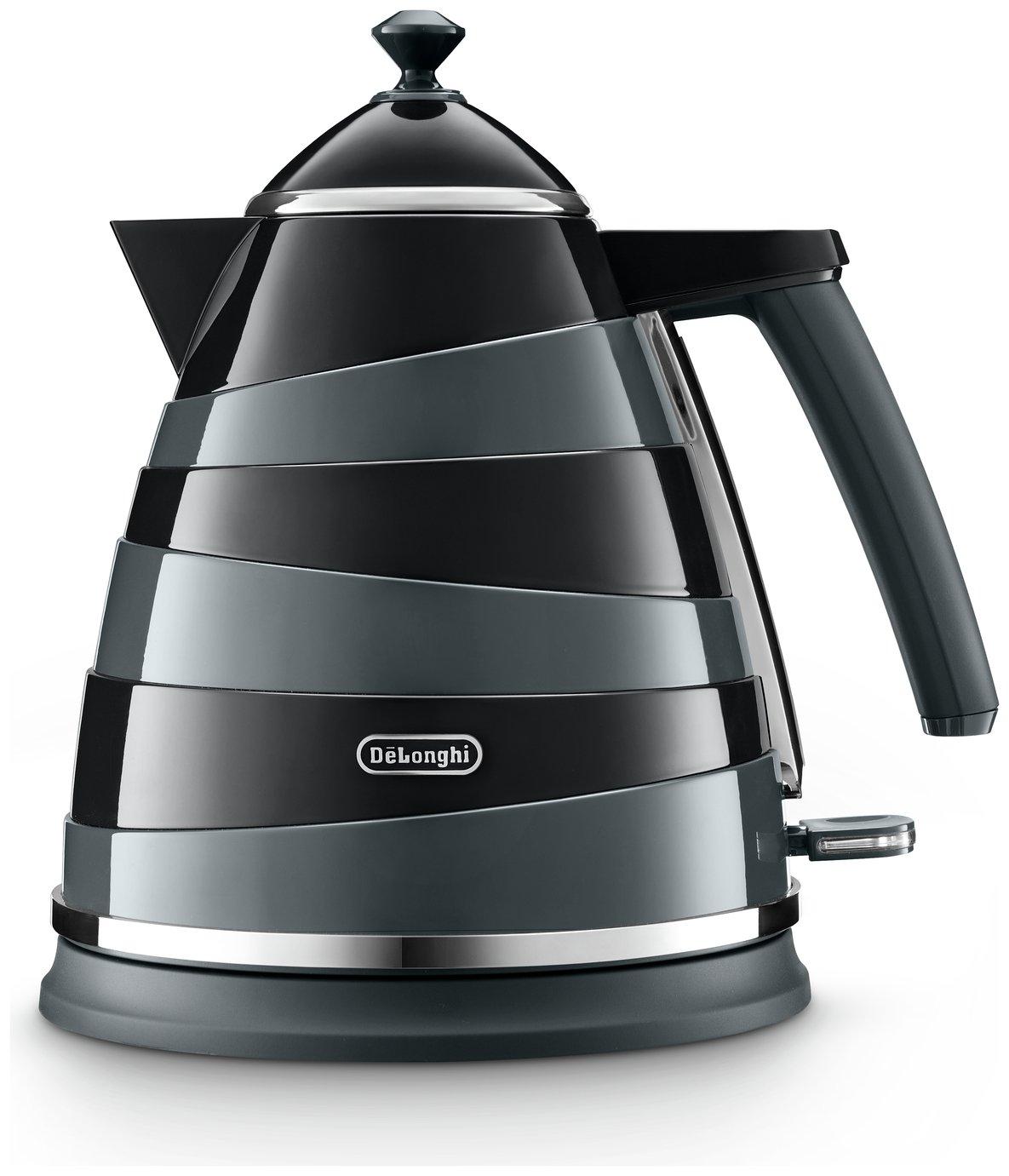 DeLonghi KBAC3001.BK Avvolta Kettle - Black & Grey