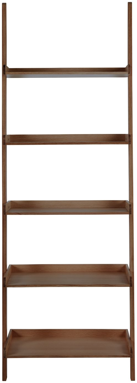 Habitat Jessie Wide Bookcase - Walnut Effect