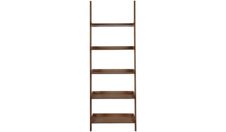 Habitat Jessie Wide Bookcase - Walnut Effect