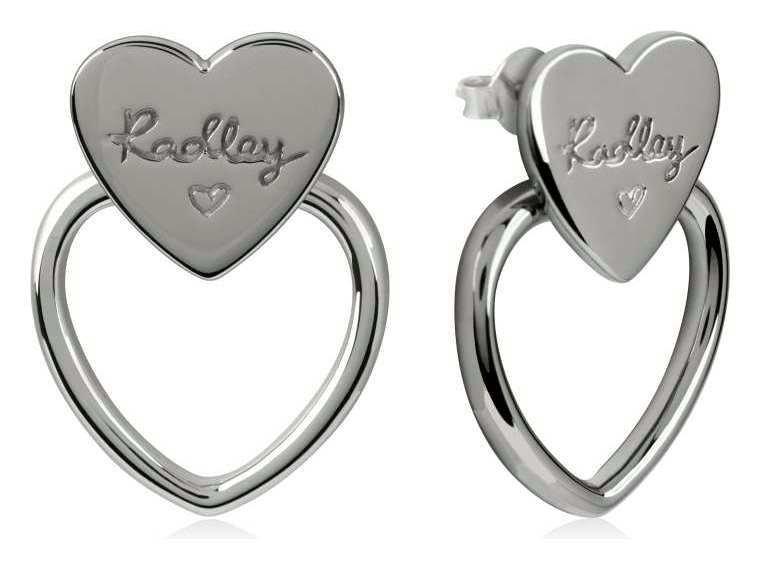 Radley Sterling Silver Heart Chain Hoop Earring review