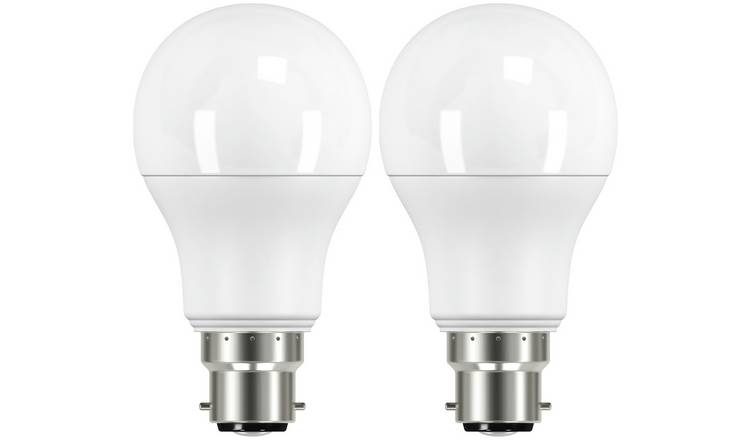 Argos Home 10W LED BC Light Bulb - 2 Pack