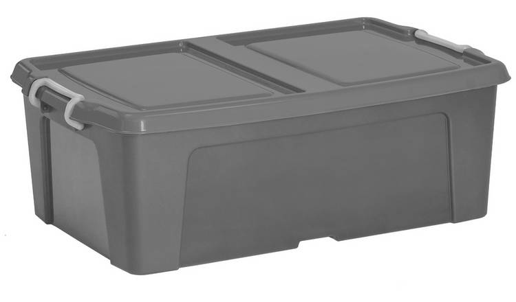 Strata 50 Litre Underbed Storage Boxes - Set of 2