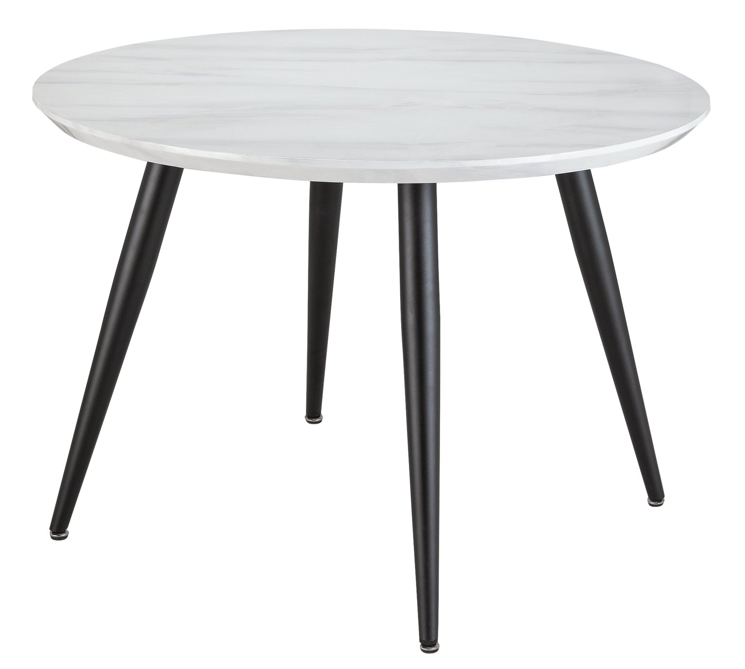 Argos Home Sienna Marble Effect 4 Seater Dining Table