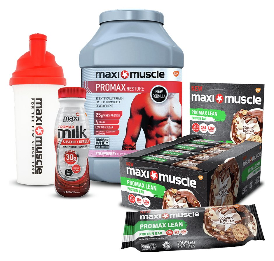 Maximuscle Starter Pack Bundle