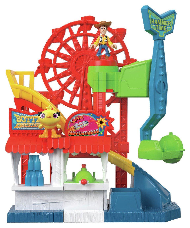 Disney Pixar Toy Story 4  Imaginext Carnival Playset