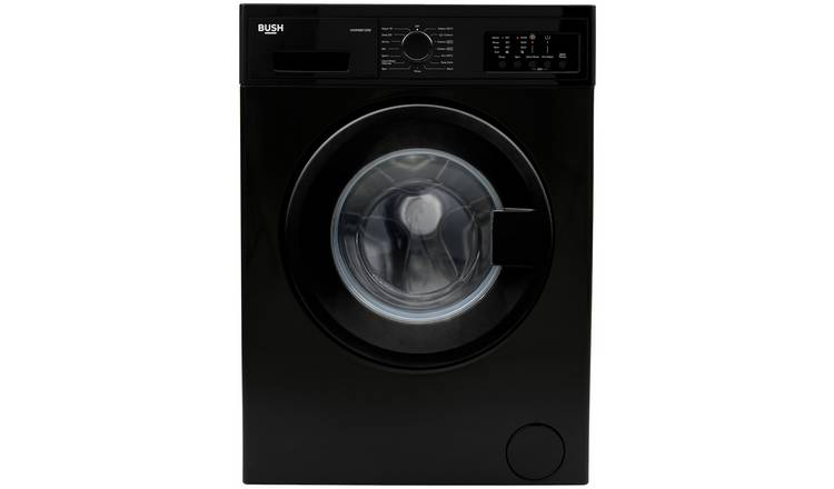 Bush WMNB812EB 8KG 1200 Spin Washing Machine - Black