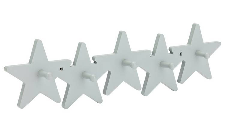 Argos Home Star Wooden Hooks