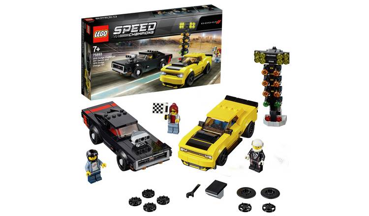 Buy Lego Speed Champions Dodge Toy Car Race Set 75893 Toy Cars Vehicles And Sets Argos