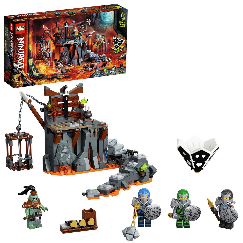 LEGO Ninjago Journey to the Skull Dungeons Game Set - 71717