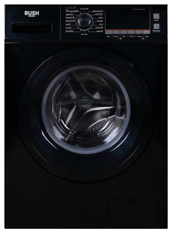 Bush WDNBX107W 10KG / 7KG Washer Dryer - Black