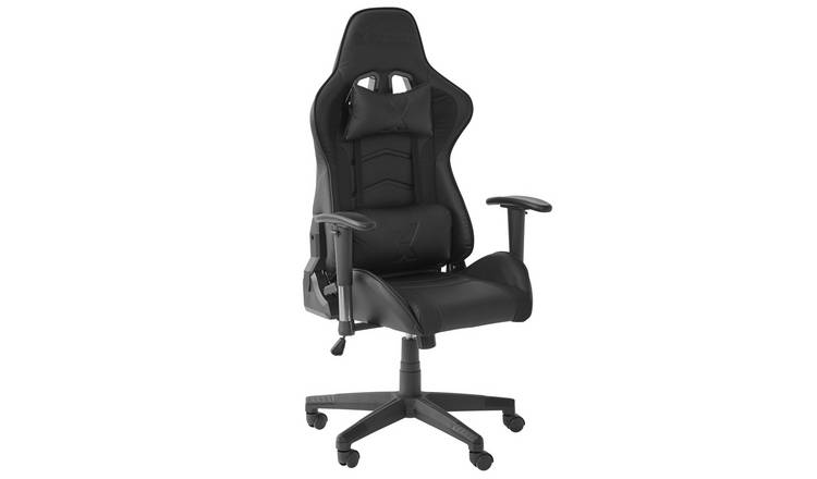 X Rocker Faux leather Ergonomic Office Gaming Chair - Black