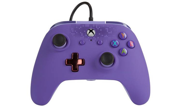 PowerA Xbox One Enhanced Wired Controller - Zen Purple