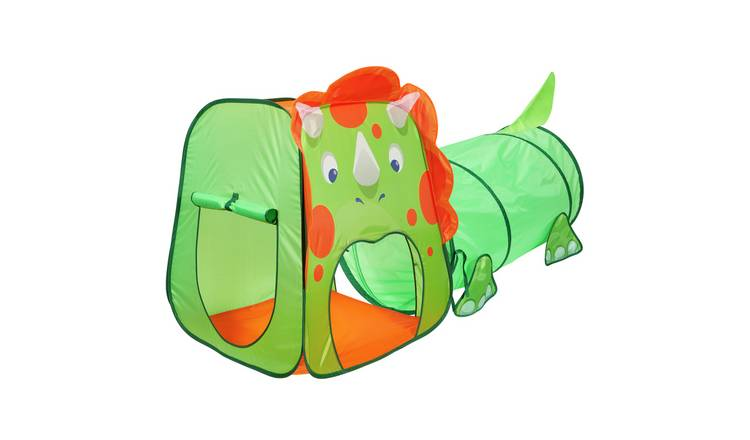 Chad Valley Dinosaur Pop Up Play Tent and Tunnel