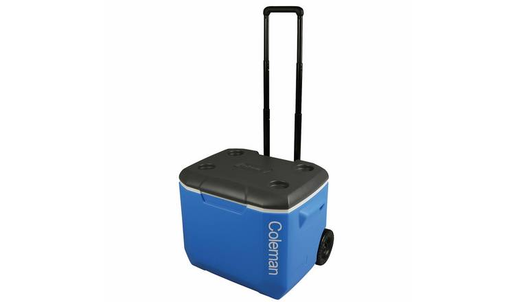 Coleman 60QT Blue Performance Wheeled Cooler - 56L