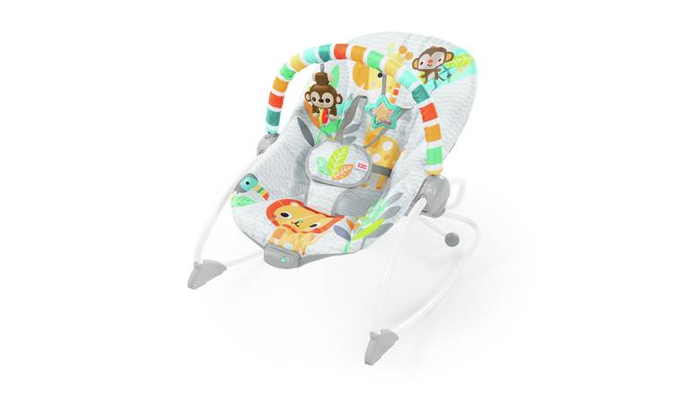 Bright Starts Safari Blast Infant to Toddler Rocker