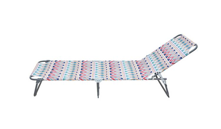 Habitat Metal Folding Sun Lounger - India