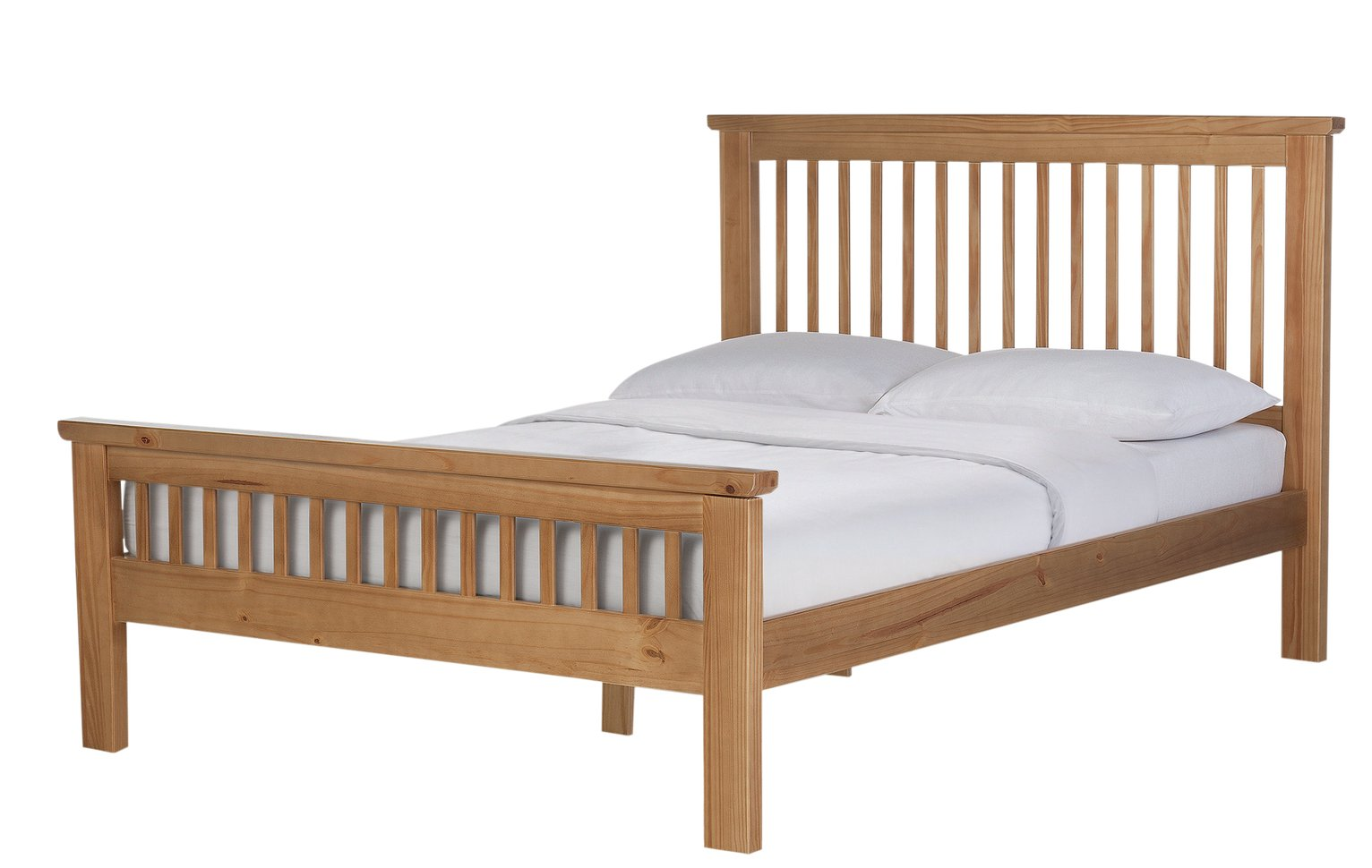 Argos Home Aubrey Solid Oak Superking Bed Frame