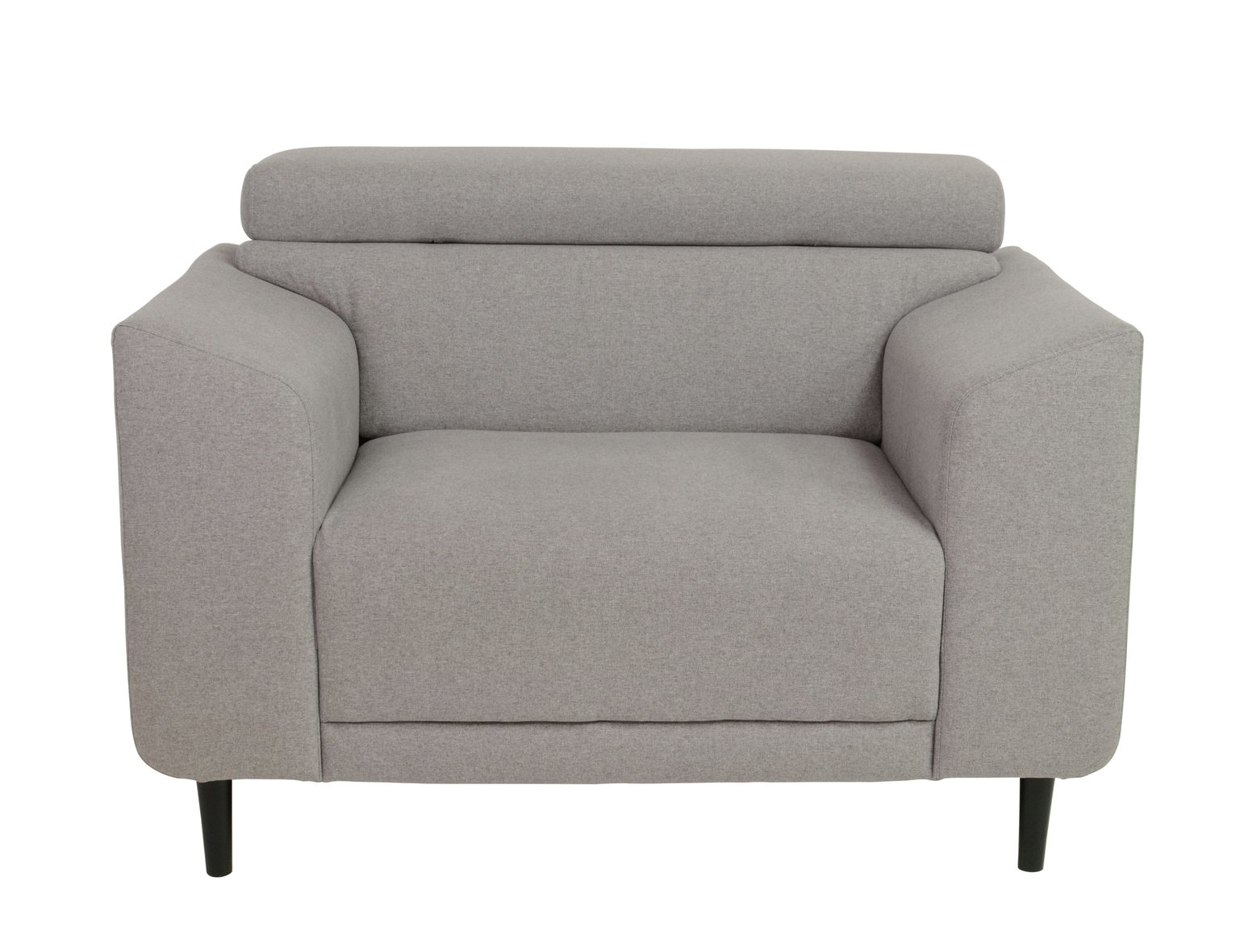 Argos Home Jonas Fabric Armchair - Light Grey