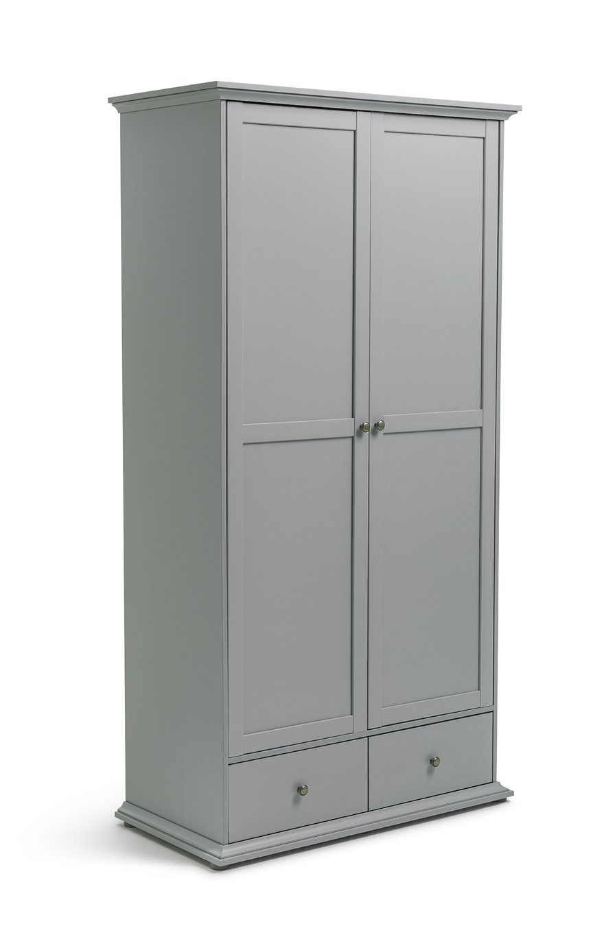 Parisot Heathland 2 Door 2 Drawer Wardrobe