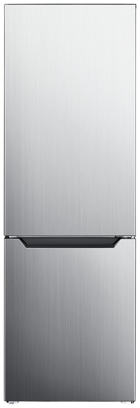 Bush 60185FF Fridge Freezer - Silver Best Price, Cheapest Prices