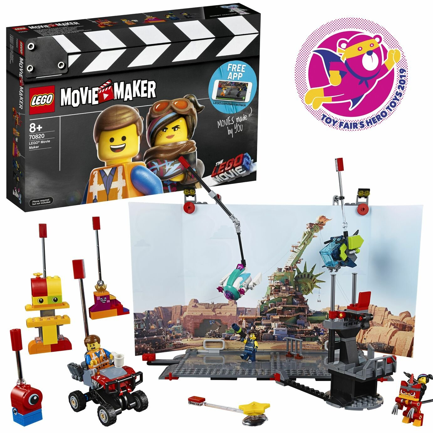 LEGO Movie 2 Movie Maker Building Kit - 70820