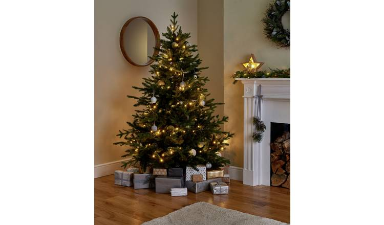 Buy Argos Home 6ft Mixed Tip Natural Look Christmas Tree Green Christmas Trees Argos