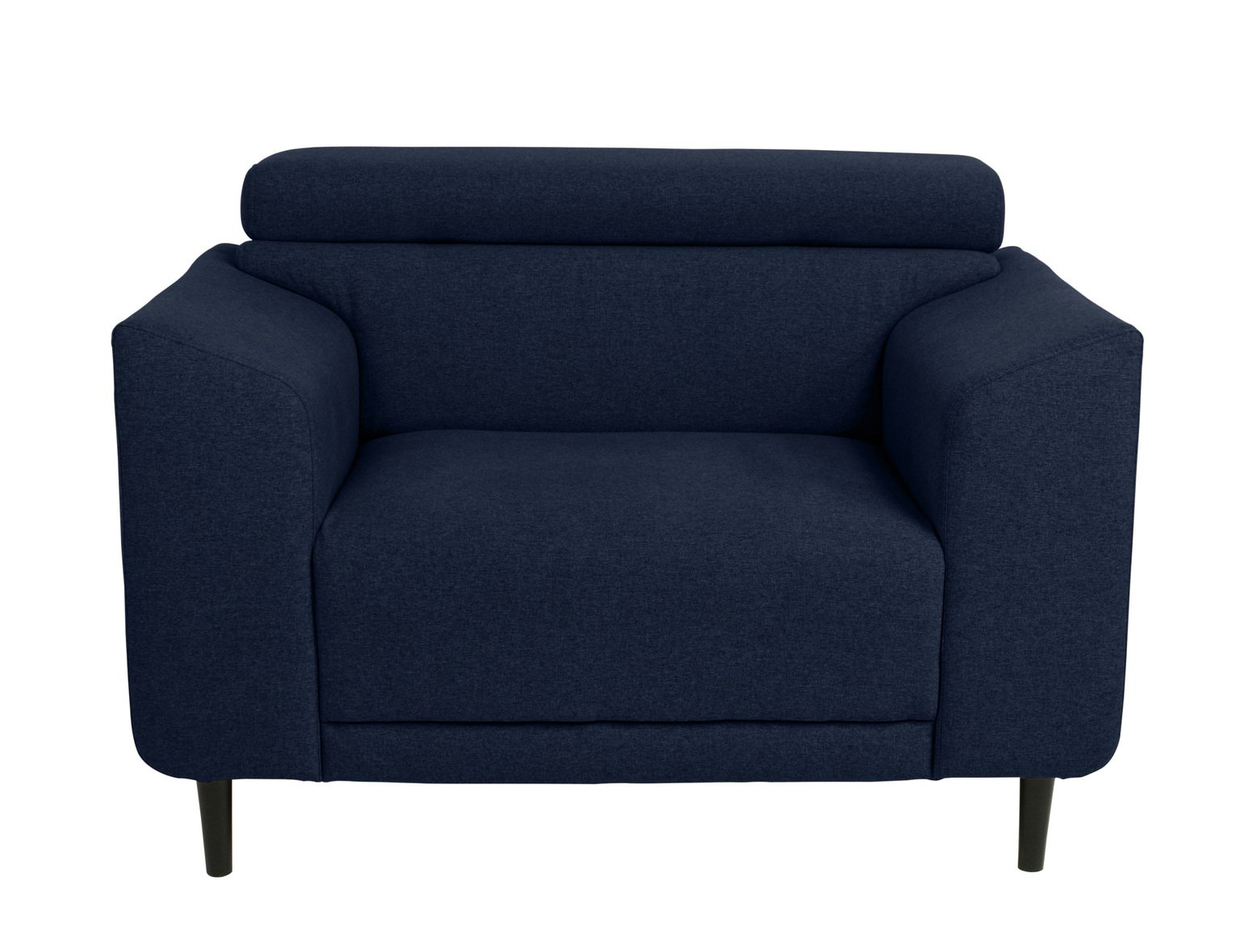 Argos Home Jonas Fabric Cuddle Chair - Navy