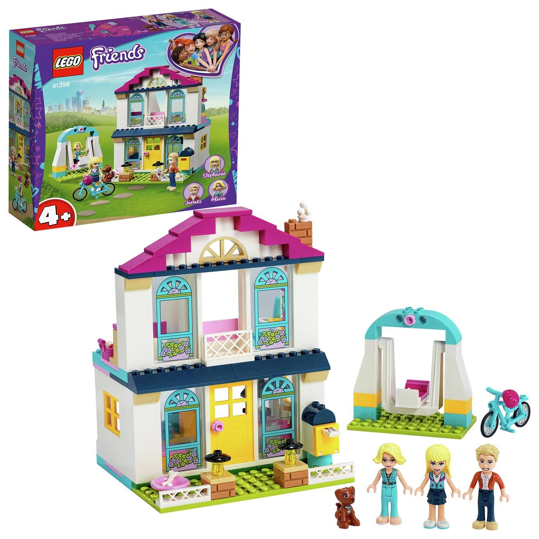 LEGO Friends 4+ Stephanie's House Mini Doll Playset - 41398