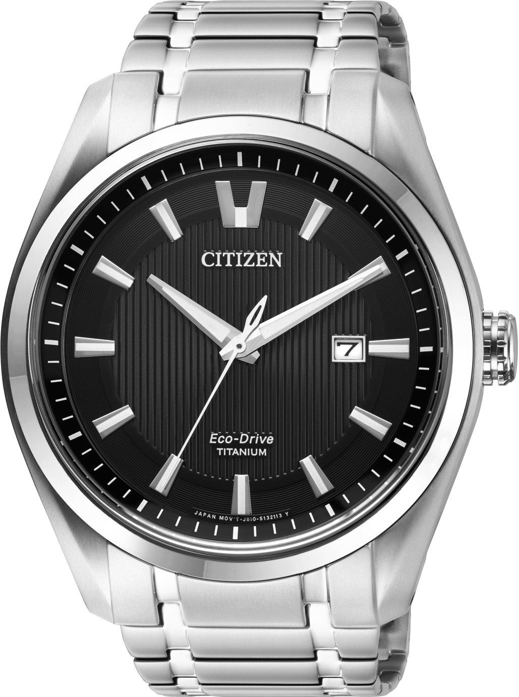Citizen Men's Silver Titanium Bracelet Watch
