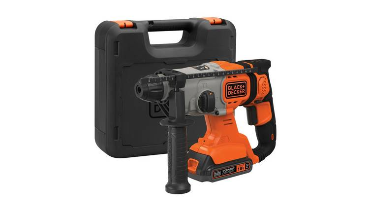 Black + Decker Power Connect SDS+ Hammer Drill - 18V