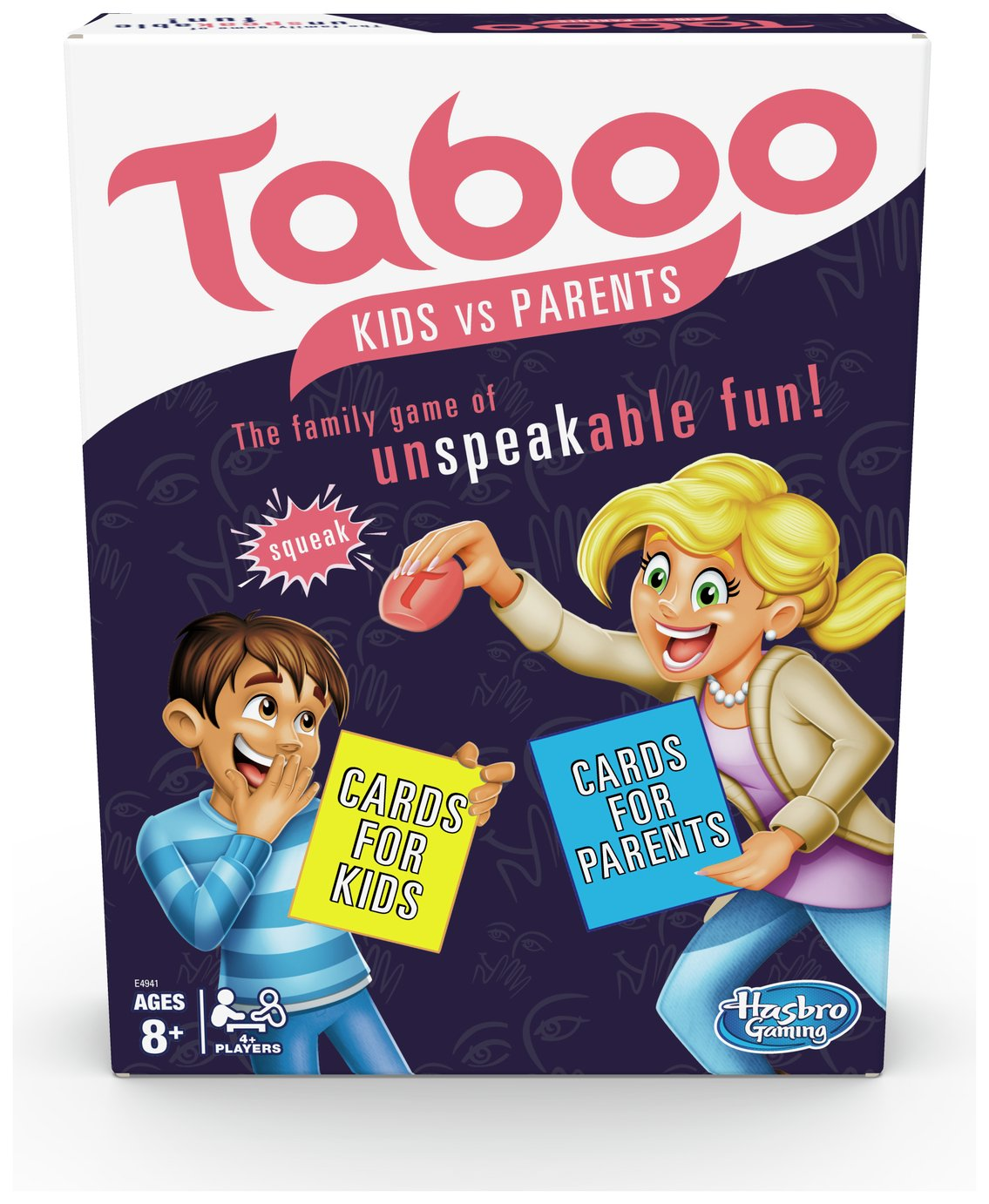 Taboo Kids vs. Parents Family Board Game from Hasbro Gaming