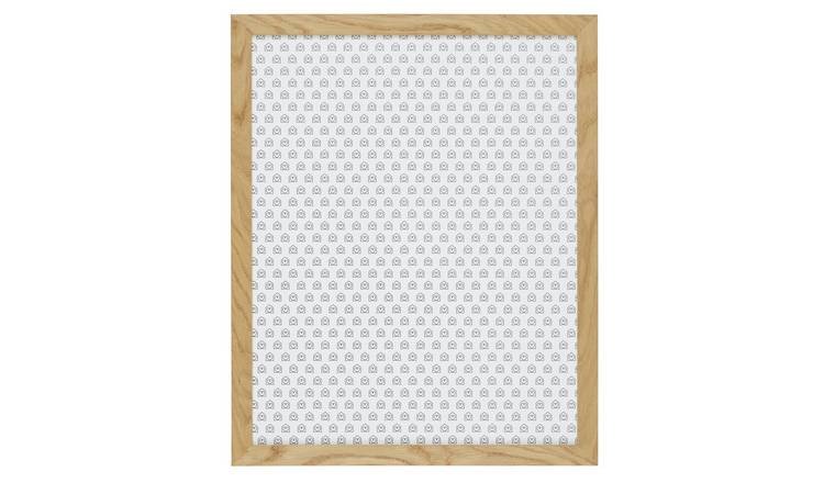 Habitat Houston 50 X 70cm/20 X 28inch Oak Wall Frame