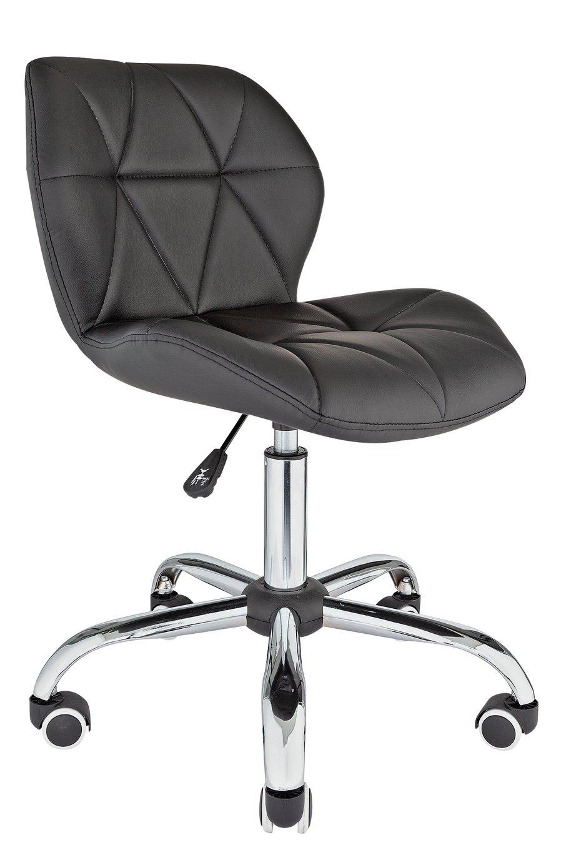 Argos Home Boutique Faux Leather Office Chair - Black