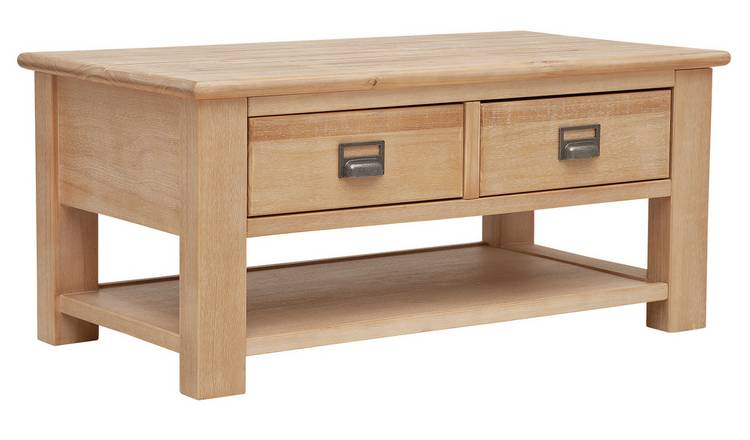 Argos Home Drury Lane Coffee Table - Light Wood