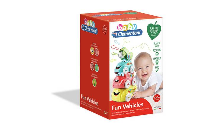 Baby Clementoni ECO Fun Vehicles