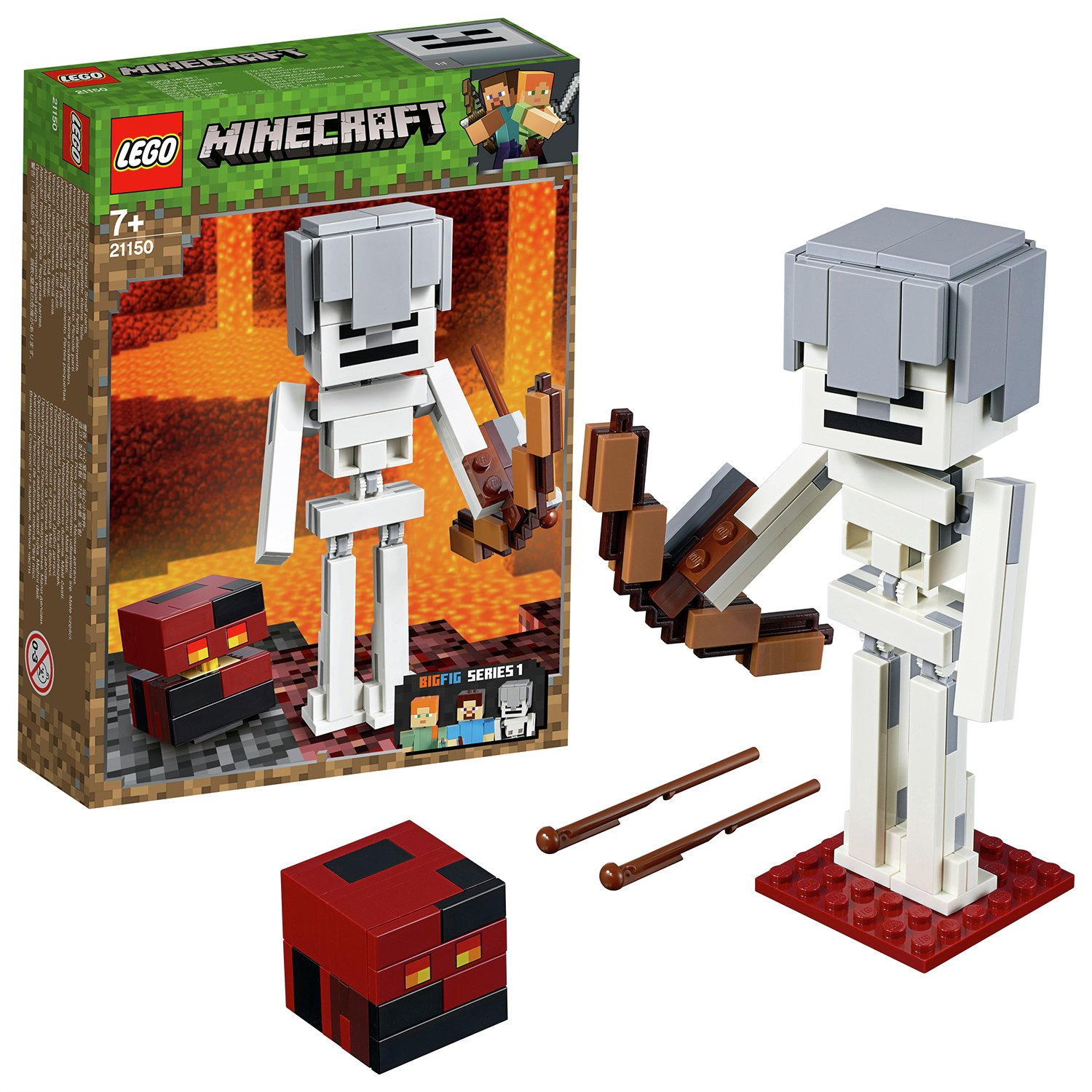 LEGO Minecraft Skeleton Figure Building Set - 21150
