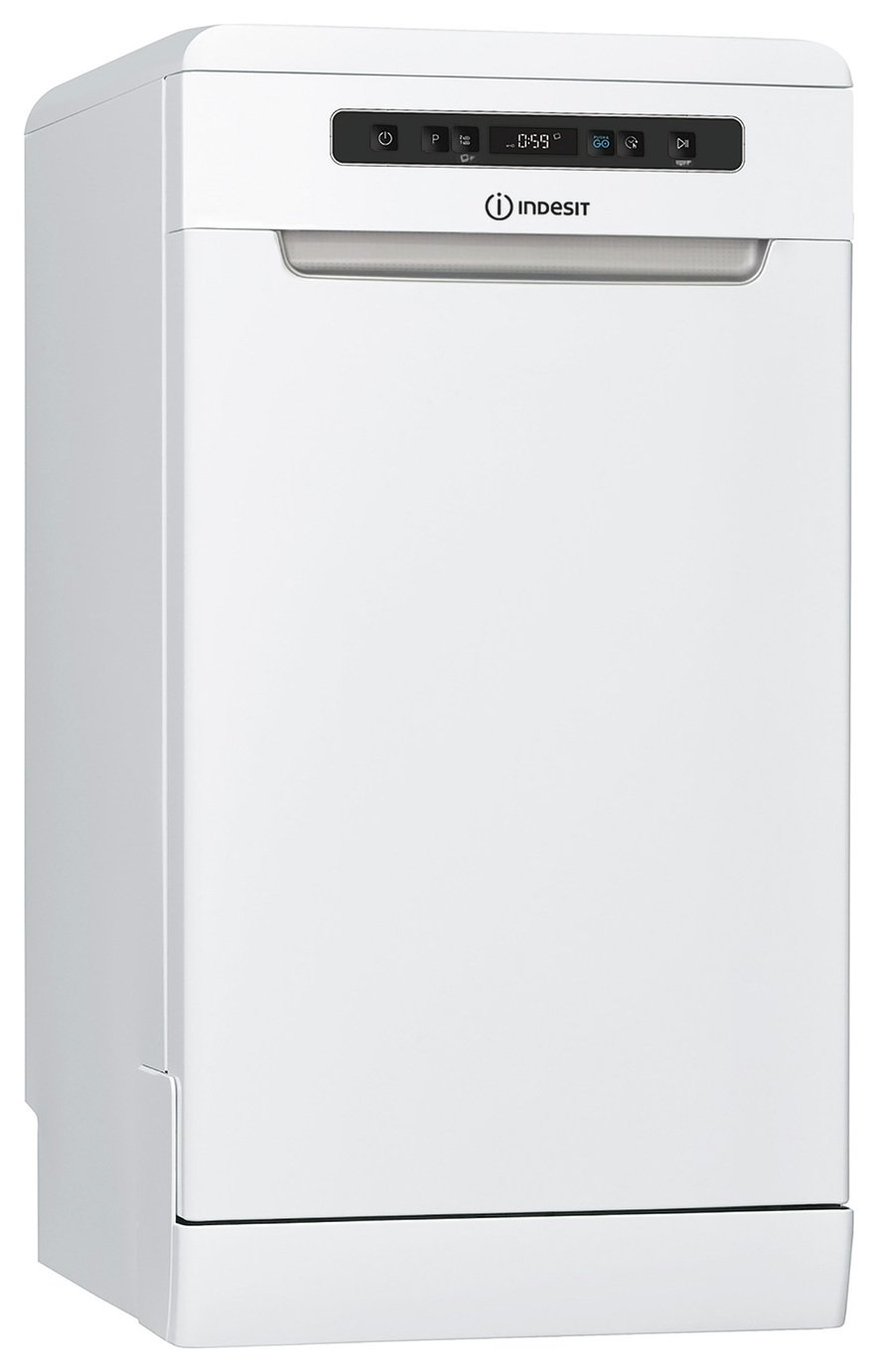 Indesit DSFO3T224ZUK Slimline Dishwasher - White