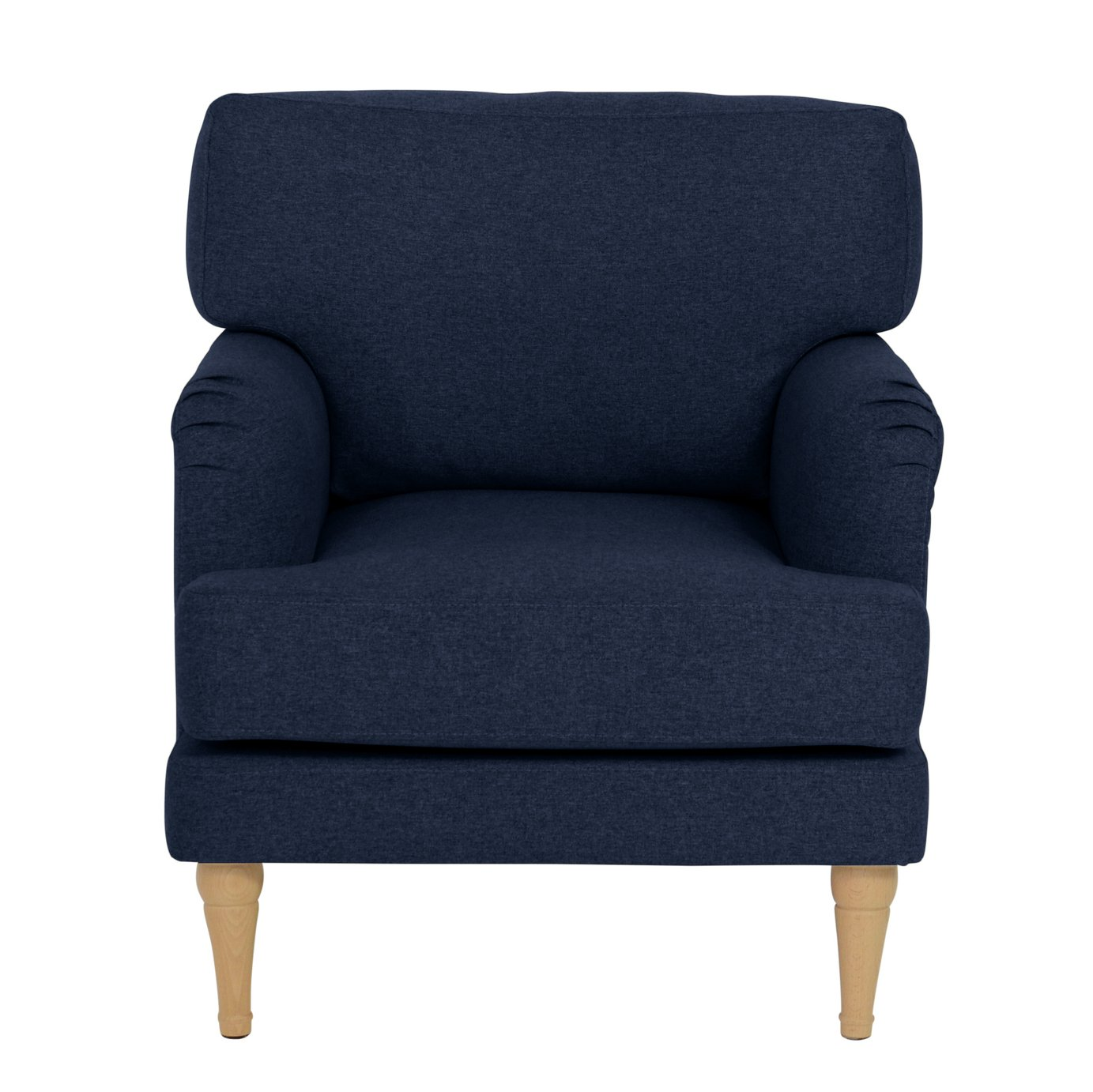 Argos Home Dune Fabric Armchair - Navy