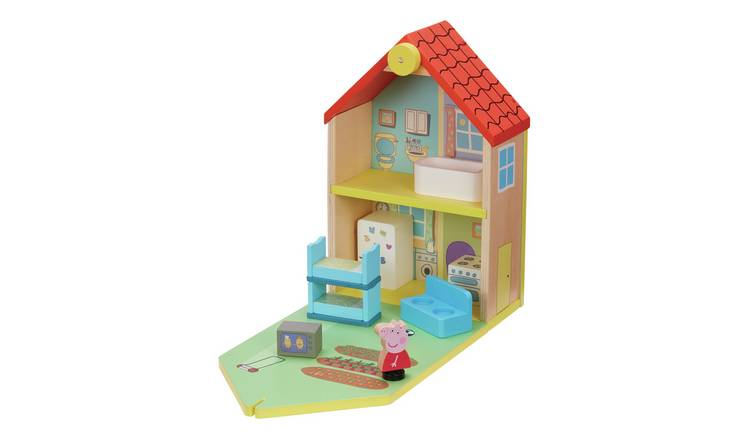 Peppa Pig Peppa's Wood Play Family Home Playset