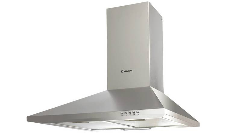 Candy CCE116/1X Chimney Cooker Hood - Stainless Steel