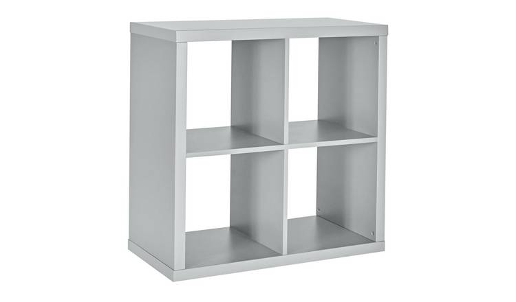 Habitat Squares Plus 4 Cube Storage Unit - Grey